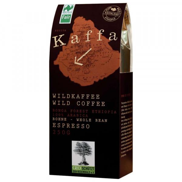 Wildkaffee Espresso, Bohnen