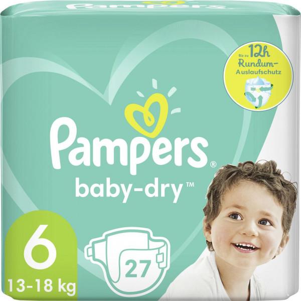 Windeln Baby Dry Gr. 6, 13-18kg