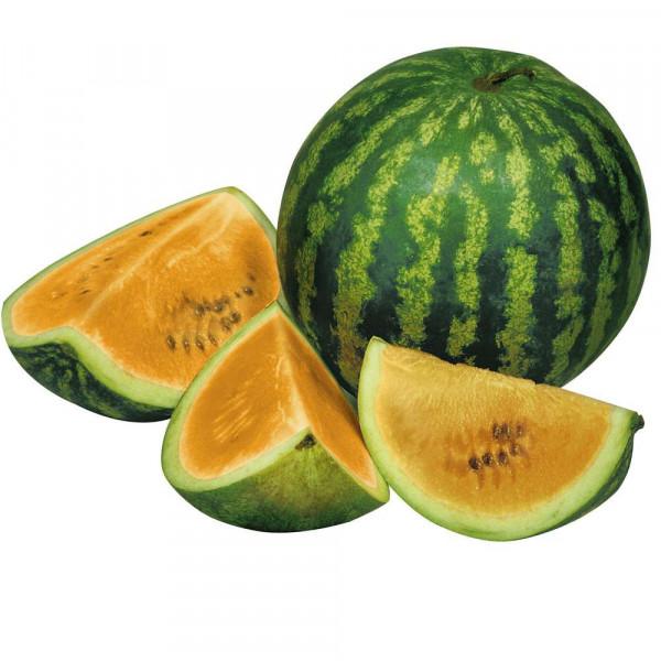 Wassermelone, gelb