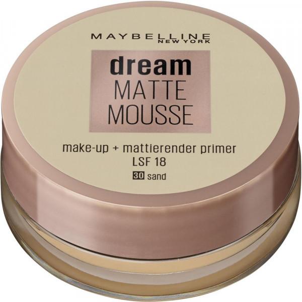 Make-Up Dream Matte Mousse, Sand 30