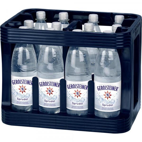 Mineralwasser, Sprudel (12 x 1 Liter)