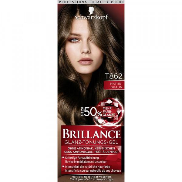 """Haartönung """"Brillance"""", T862 Naturbraun"""