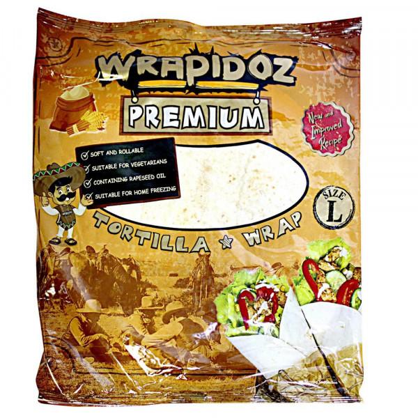 Tortilla Wraps, Weizen
