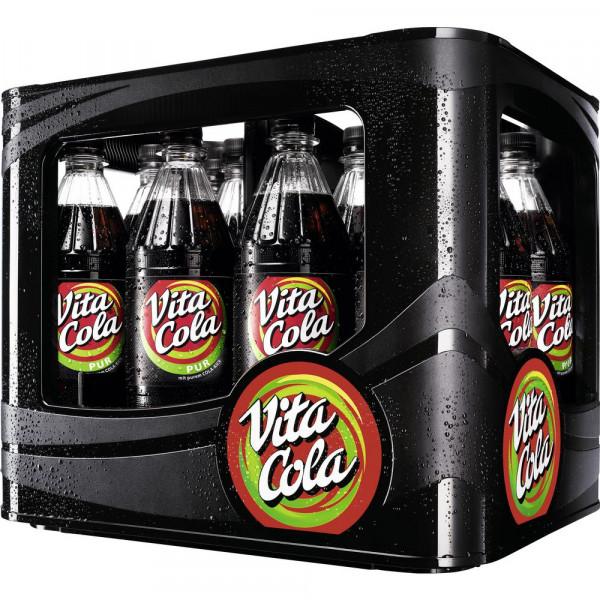 """Koffeinhaltiges Erfrischungsgetränk """"Pur"""" (12 x 1 Liter)"""