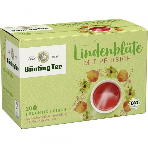 Bio Tee Lindenblüte-Pfirsich