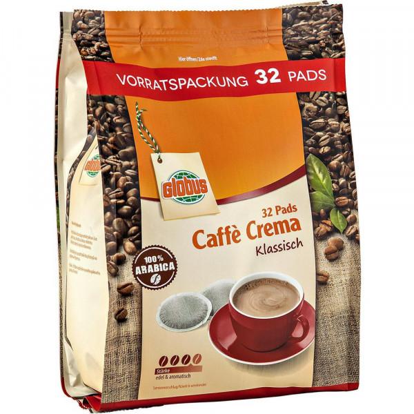 Kaffee Pads Caffè Crema, Vorratspackung, 32 Stück