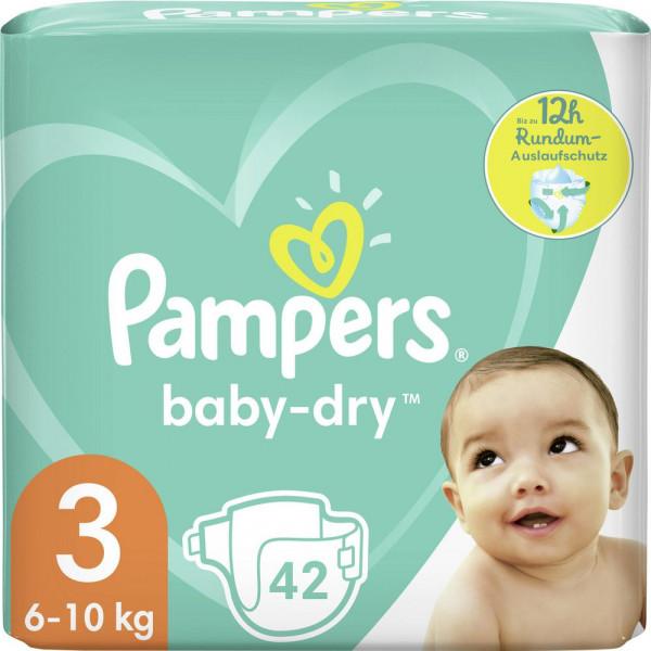 Windeln Baby Dry Gr. 3, 6-10kg