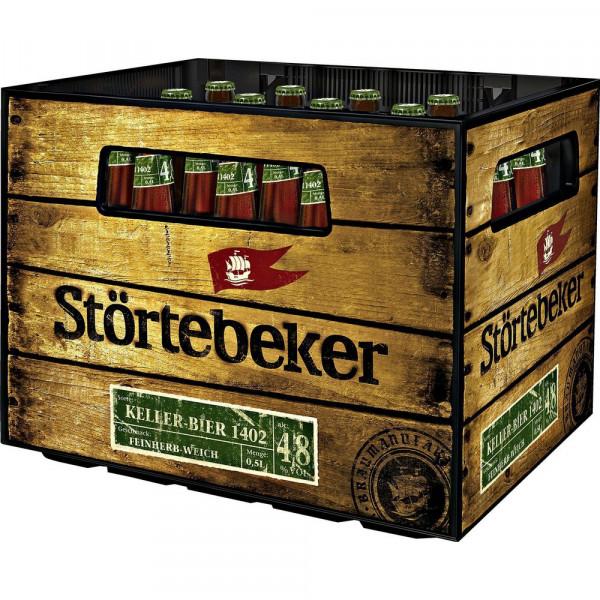 Bio Kellerbier 4,8%, 0,5L (20 x 0.5 Liter)