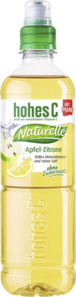 Naturelle Apfel-Zitrone Mineralwasser, Natuvelle