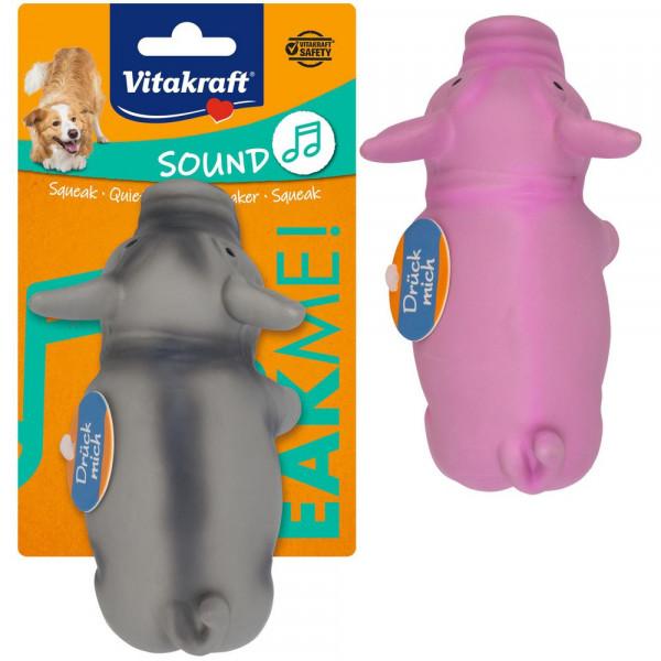 """Hunde-Spielzeug """"Sound"""", Schwein"""
