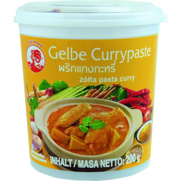 Currypaste, gelb