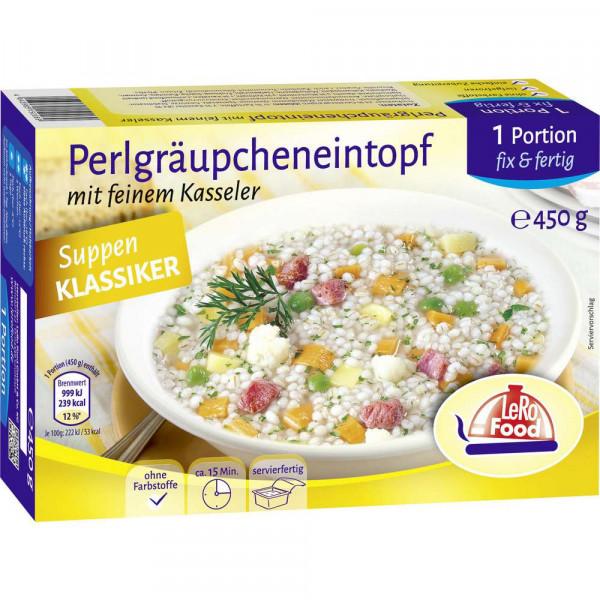Perlgraupen-Eintopf mit Kasseler