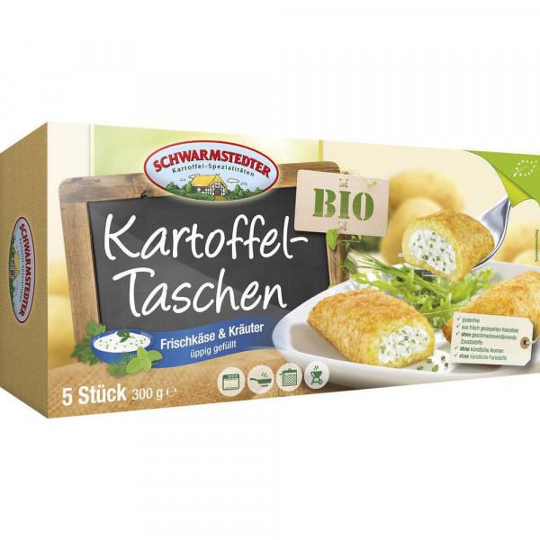Bio Kartoffeltasche mit Frischkäse, tiefgekühlt