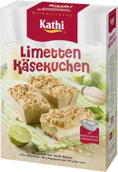 Backmischung, Limetten-Käsekuchen