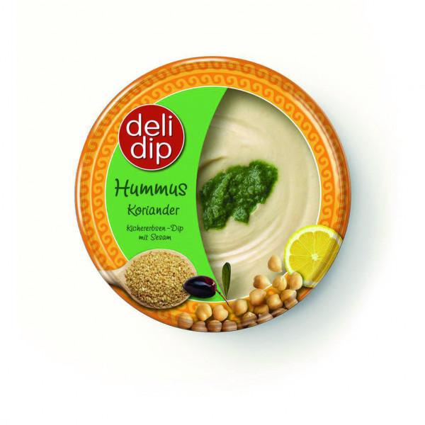 Hummus, Koriander