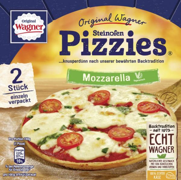 """Steinofen Pizzies """"Mozzarella"""", tiefgekühlt"""