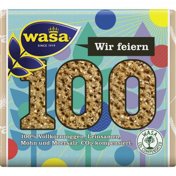 """Knäckebrot """"100 Jahre"""", Mohn & Leinsamen"""