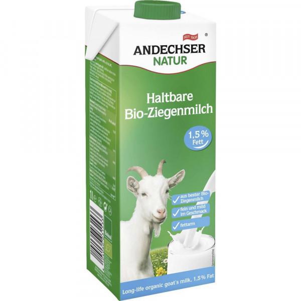 Bio H-Ziegenmilch 1,5% Fett