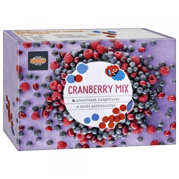 Beerenmischung mit Cranberries, tiefgekühlt