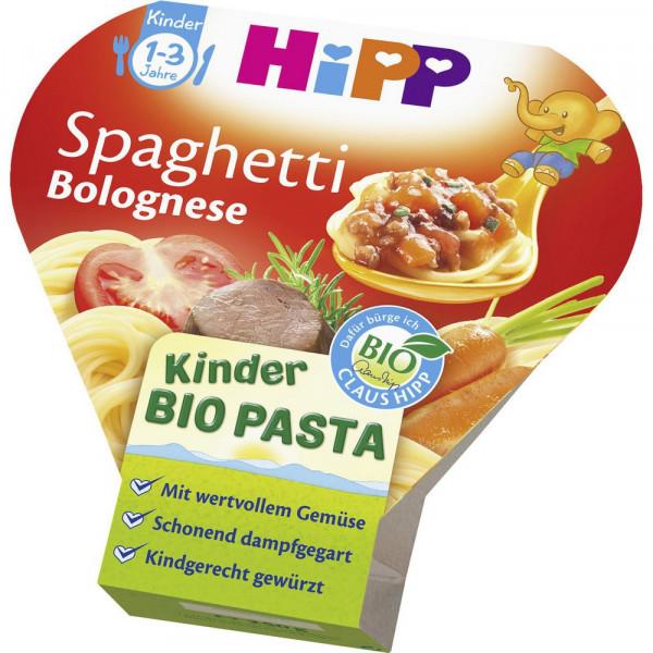 Kinder Bio Pasta Schalenmenü, Spaghetti Bolognese