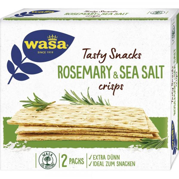 """Knäckebrot """"Delicata Crisp Rosemary & Sea Salt"""""""