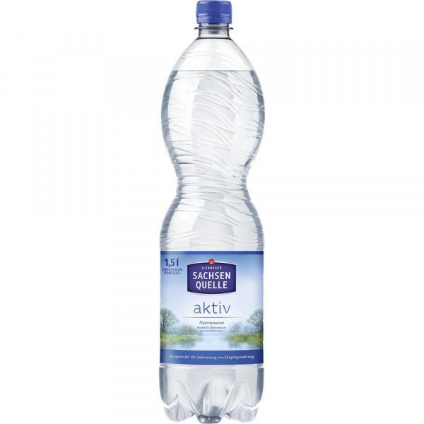 Aktiv Mineralwasser, Spritzig