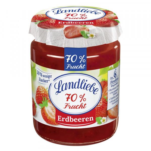 """Fruchtaufstrich """"70% Frucht"""", Erdbeere"""