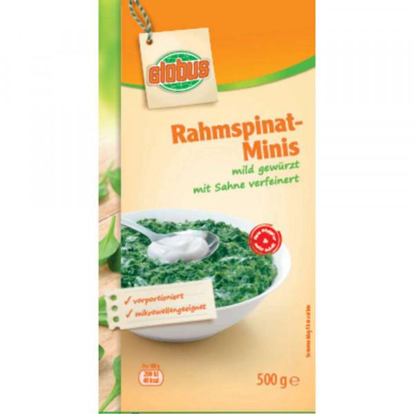 Rahmspinat-Minis