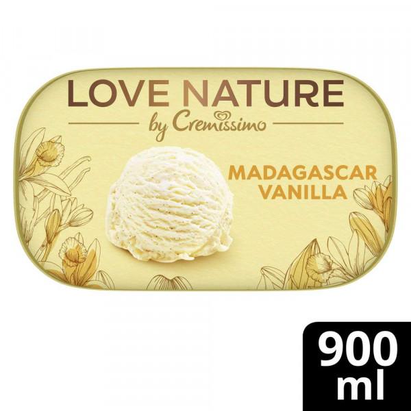 Eiscreme Love Nature, Madagaskar Vanille