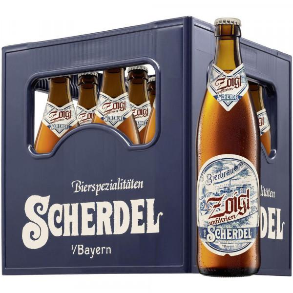 "Bier ""Zoigl"" unfiltriert 5,2% (9 x 0.5 Liter)"