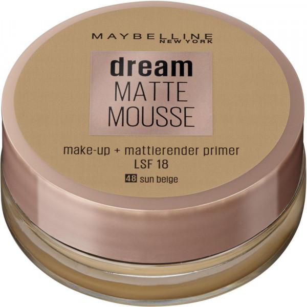 Make-Up Dream Matte Mousse, Sun Beige 48