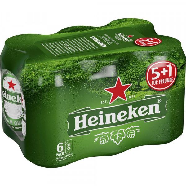 Pilsener Bier 5,0%(6 x 0.33 Liter)