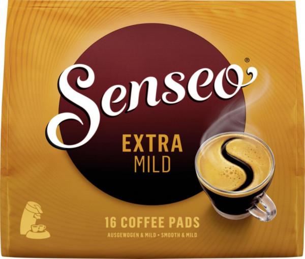 Kaffee Pads, Extra Mild