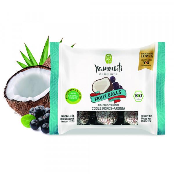 Bio Fruchtkugeln, Kokos-Aronia