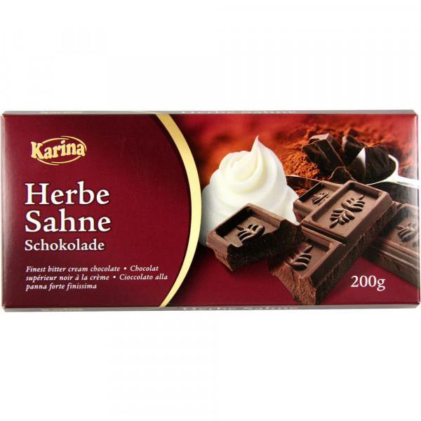 Tafelschokolade, Zartbitter
