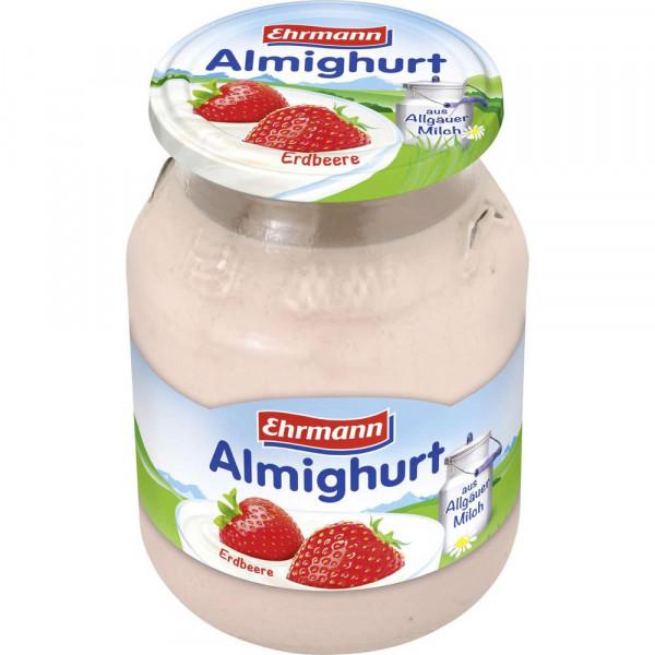 Fruchtjoghurt, Erdbeere