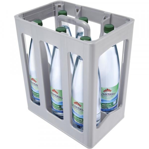 Mineralwasser, Medium (6 x 1 Liter)