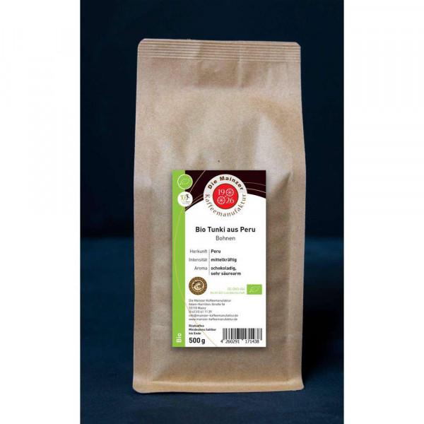"""Kaffee-Bohnen """"Bio Tukan Peru"""""""