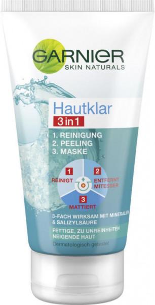 Hautklar 3in1 Reinigungspeeling