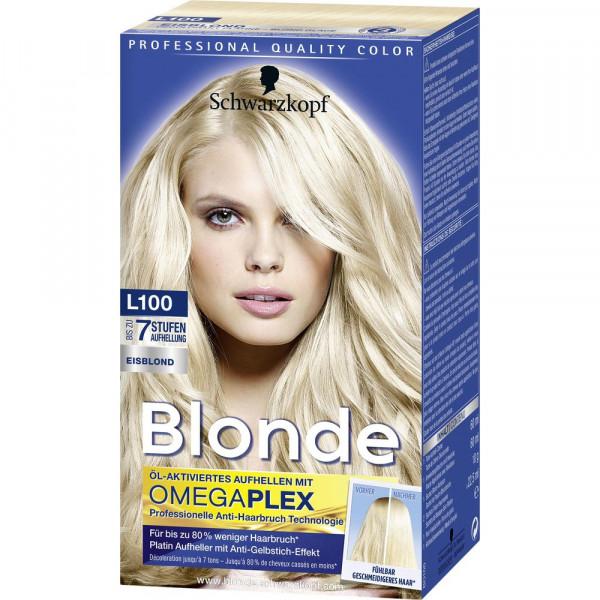 """Haarfarbe """"Aufheller"""", L100 Eisblond"""