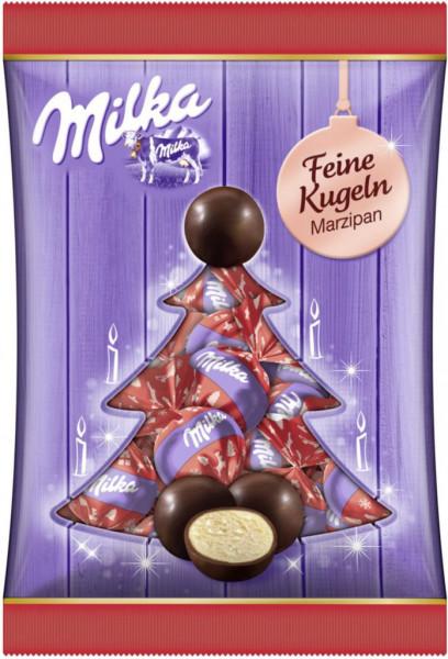 Schokoladen-Kugeln, Marzipan