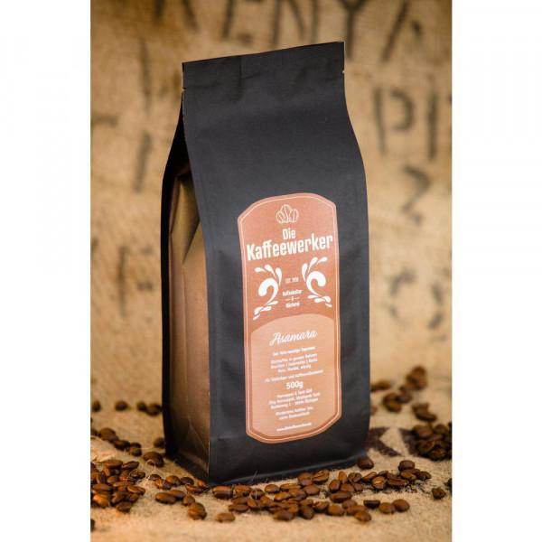 Kaffee-Bohnen Asamara