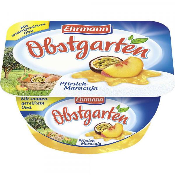 Obstgarten Fruchtquark, Pfirsisch/Maracuja