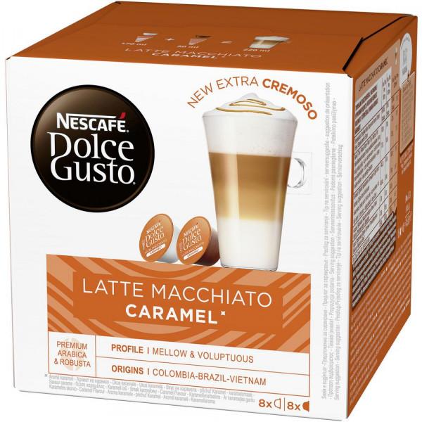 "Kaffee-Kapseln ""Latte Macchiato Caramel"""