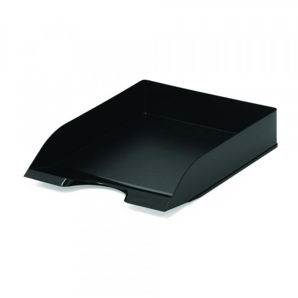 Briefablage Basic, schwarz, stapelbar