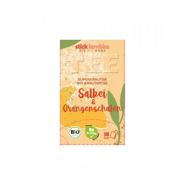 Bio Tee Salbei-Orangenscheiben
