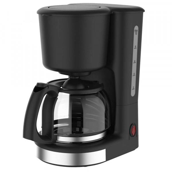 Kaffeemaschine 1,25L /10 Tassen, schwarz