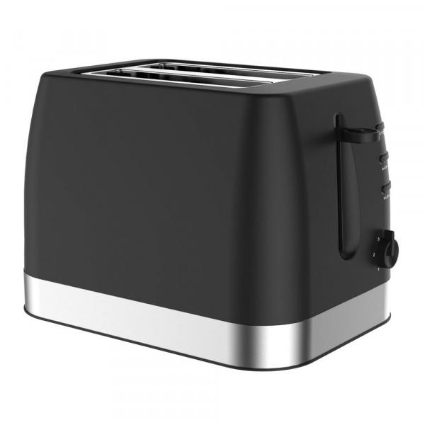 2-Schlitz Toaster, schwarz