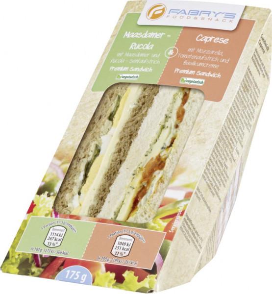 Sandwich Mixpack Rucola & Caprese