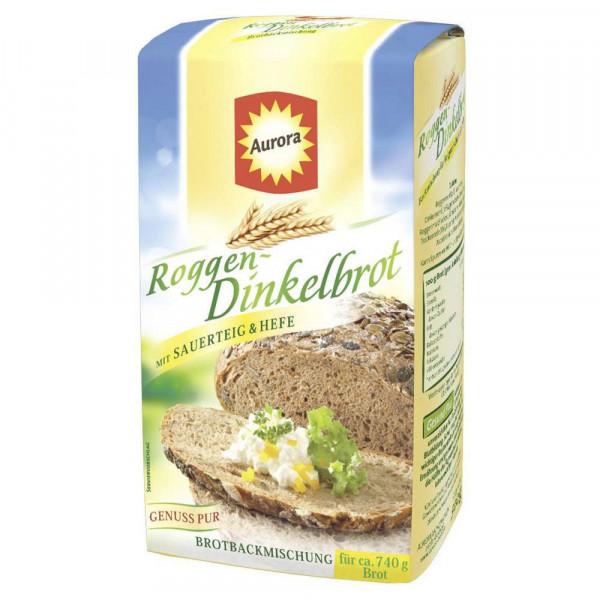 Brotbackmischung, Dinkel-/Roggenbrot